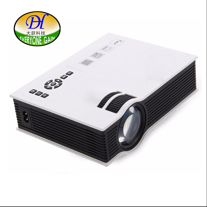 Everyone Gain Mini40+ Pico 800*480p 800 Lumens Portable Projector Home Theater Beamer Multimedia Proyector support 3D Films(China (Mainland))