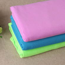 5yards Milk silk factory outlets 100D polyester stretch fabric polyester Fleece way stretch fabric stock wholesale(China)