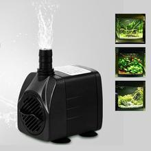 Ultra-quiet 210GPH 800L/H 15W Mini Adjustable Submersible Water Pump Fish Tank Aquarium Powerhead Fountain Pond Pool HOT RT