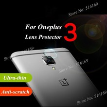 For Oneplus 3 / 3T Back Camera Tempered Glass Lens Protector One Plus Three Oneplus3 Ultra Clear Protective Film Guard 2Sets/Lot(China)