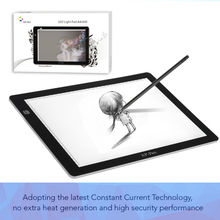 "XP-Pen A4S 18"" LED Tracing Light Pad Light Box/ Light Pad Track Table/Painting Plates/ drawing Tablet with USB cable"