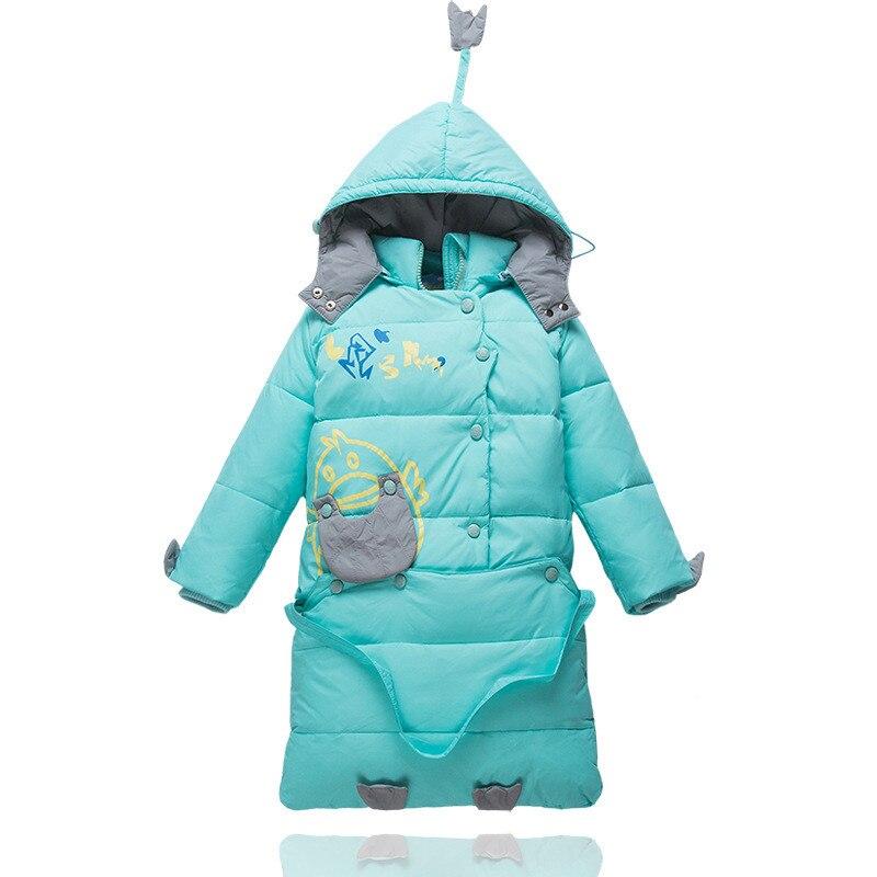 2017 Winter Baby Coat Kids Warm Cotton Outerwear Coats Baby Clothes Infants Children Outdoors Sleeping Bag zl910Îäåæäà è àêñåññóàðû<br><br>