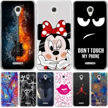 Case For Alcatel POP 4 5051D silicone cover cool design painting back cover soft tpu case Alcatel Pop4 5.0 Inch