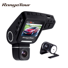 2017 New Range Tour C10s Plus Dual Lens Car DVR Cam Dash Camera Full HD 1080P 2.0 Inch LCD 170 Degree G-Sensor Video Recorder(China)