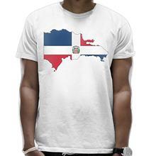 995e623bf Dominican Republic Map Flag Mens Printed Tee,Round Collar Short-Sleeve  T-Shirts Dad Men High Quality Tee Shirt