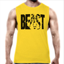 10 Colors Beast Men Tank Tops Workout Clothing 2017 Brand Bodybuilding Fitness Vest Singlet Shirt