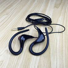 2017 new Wholesale 3.5mm sport Earphones Headphones Headset with Mic For iPhone Samsung Xiaomi MP3 High quality Bass For Running