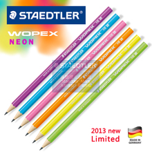 Staedtler wopex neon pencil eco-friendly pencils limited edition 20pcs/lot(China)
