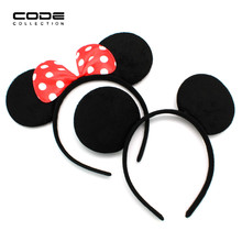 Lovely Mous Ear Headband Accessories Women Gril Children Hair Jewelry  Mouse Ears Birthday Party Gifts