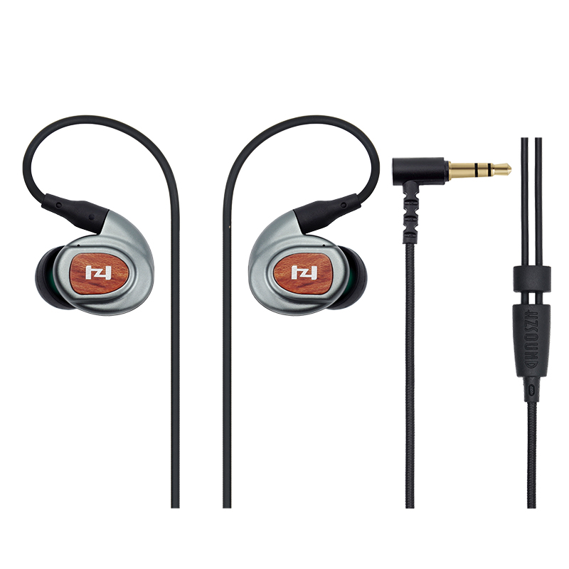 2017 NEW Original Genuine HZ3 in Ear Earphone Metal Bass Headphones Earhook HIFI Earnuds Headset<br>