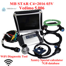Mb star c4 Vediamo V2016-07+Panasonic  Laptop CF19 4GB +Xentry DAS EPC Wifi Diagnostic Tool  MB Star SD Connect c4