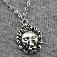 Buy Wholesale 30pcs Antique Silver Color 24*16mm Lion Pendant Metal Chain Necklace, Fashion Necklace Jewelry Women for $18.04 in AliExpress store