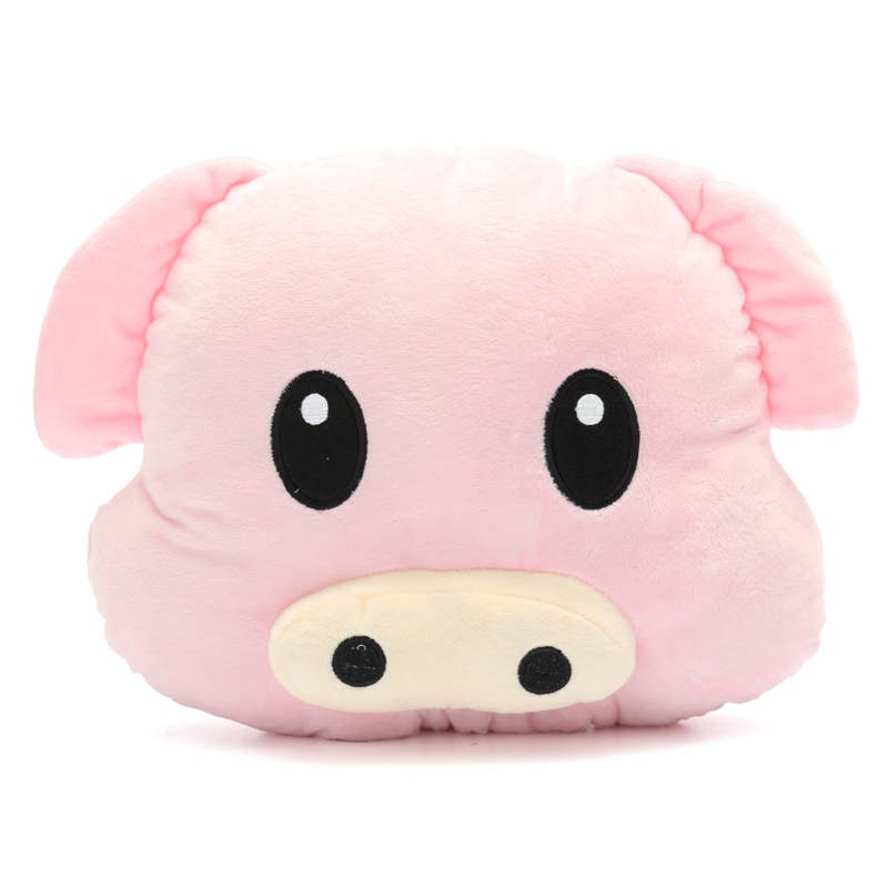 New Arrival Pig Piggy Emoji Pillow Pink Emoticon Pillow Cushion Plush Toy Stuffed Doll Gift Doll Hold Pillow Stuffed Toy(China (Mainland))