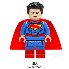 Superman Single Sale DC Justice League Super Hero Building Blocks Bricks Children Gifts Toys X0167 Drop Shipping