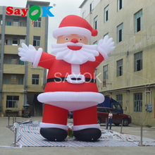Giant 6m/20ft Tall Outdoor Inflatable Santa Claus Christmas Decor