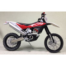 KTM Husqvarna TE449 1:12 Off-road Motorcycle Models The Best Motorcycle Toys And Birthday Collection Gifts(China)