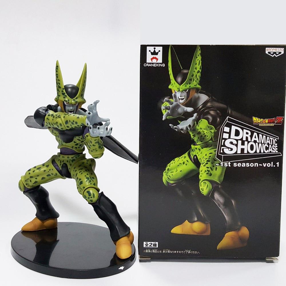 1pcs Dragon Ball Z Figures DXF Cell Dramatic Showcase PVC 180mm Dragon Ball Z Action Figure Model Toys DBZ<br><br>Aliexpress