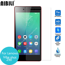 Buy AIBILIFor Lenovo Vibe Shot Tempered glass Screen Protector Safety Protective Film VibeShot Z90 a40 Z90a40 2.5D 9H 0.26MM for $1.39 in AliExpress store