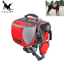 [TAILUP] Dog Harness K9 for Large Dogs Harness Pet Vest Outdoor Puppy Small Dog Leads Accessories Carrier Backpack py0025(China)