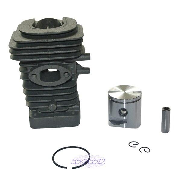 39mm Cylinder Piston Set Fits Husqvarna 240E 240 236 235 Chainsaw Engine Motor<br>