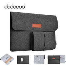 dodocool Fashion Soft Sleeve Bag Case For Apple Macbook Air Pro Retina 11 12 13 Laptop Anti-scratch Cover For Mac book 13.3 inch(China)