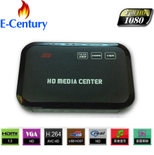 MANYTEL Hd Media Player 1080P USB External HDD Media Player With HDMI VGA SD Support MKV H.264 RMVB WMV Media Player