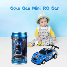Coke Can RC Car Mini 1 : 63 Radio Remote Control Micro Racing Car Carrinho De Controle Electric Toy Vehicle Kids Xmas Gifts Toys