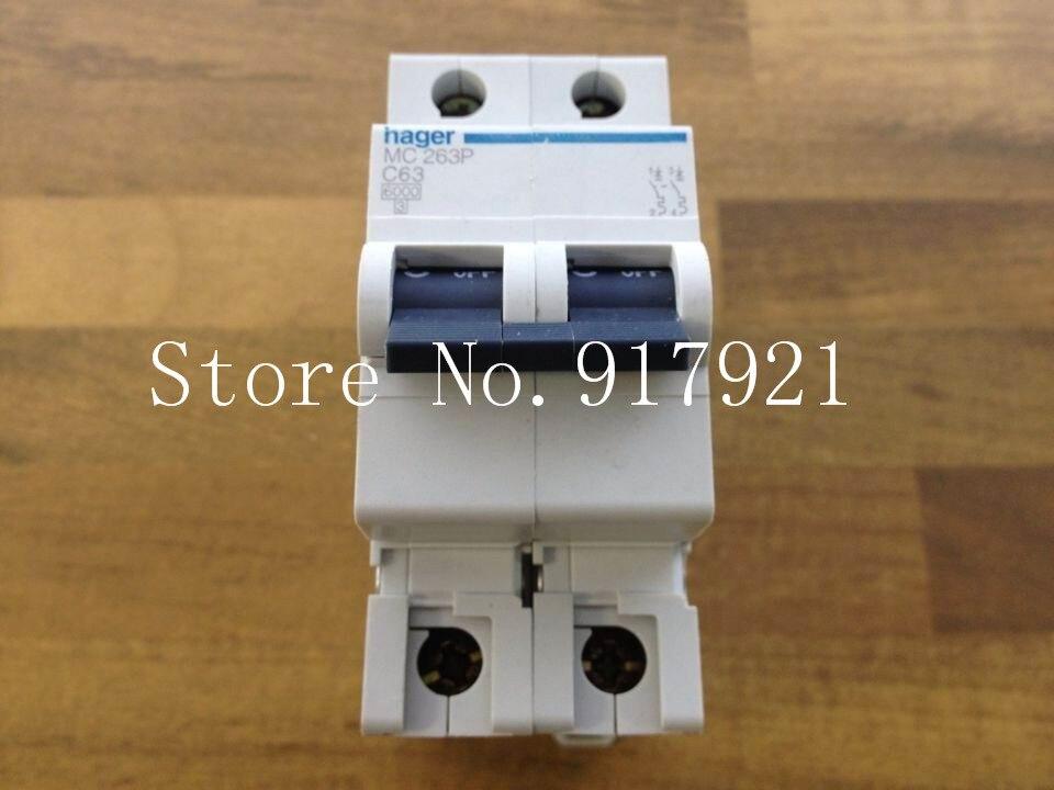 [ZOB] Hagrid MC263P miniature circuit breaker 2P63A  --5pcs/lot<br><br>Aliexpress