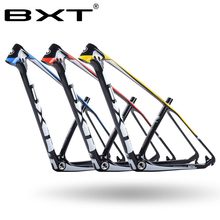 2017 Chinese carbon mtb frame 29er bicicletas mountain bike 29 bicycle parts 142*12 135*9mm - BXT Official Store store