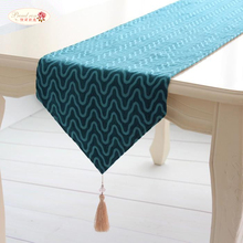1 Piece European Fashion Blue Table Runner/ American Pastoral Style Table Runner/ The Modern Home Decoration Table Runner