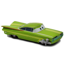 Cartoon Movie Pixar Cars Green Ramone Car With Gun Diecast Metal Toy Car 1:55 Loose Retro Alloy Car Toy For Kid Disney(China)