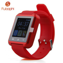 JRGK Bluetooth Smart Watch U80 Sport Clock Android Smartwatch Message remind alarm Children Gift PK U8 GT08 DZ09 - Shenzhen Fuloophi Store store