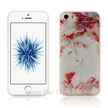 Anti Gravity Sticky Case For iPhone 7 6 6S Plus SE 5 5S Selfie Hybrid TPU PC Flower Fashion Stick On The Wall Back Cover 1pcs