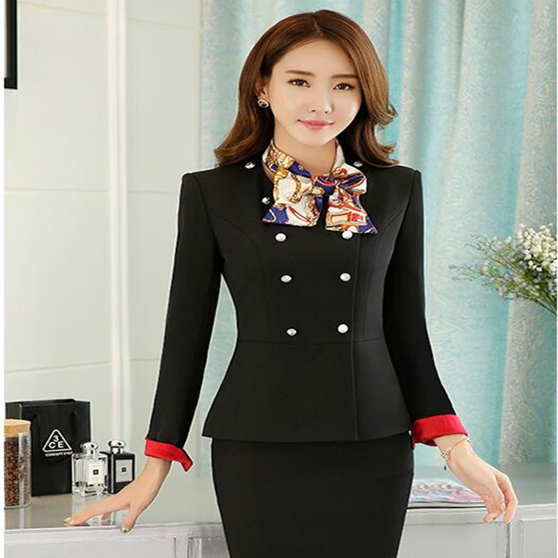 Online Get Cheap Double Breasted Skirt Suit -Aliexpress.com ...