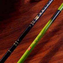 3.6m Send replacement handle fishing rods carbon fiber 360 degrees rod tip section long fishing pole(China)