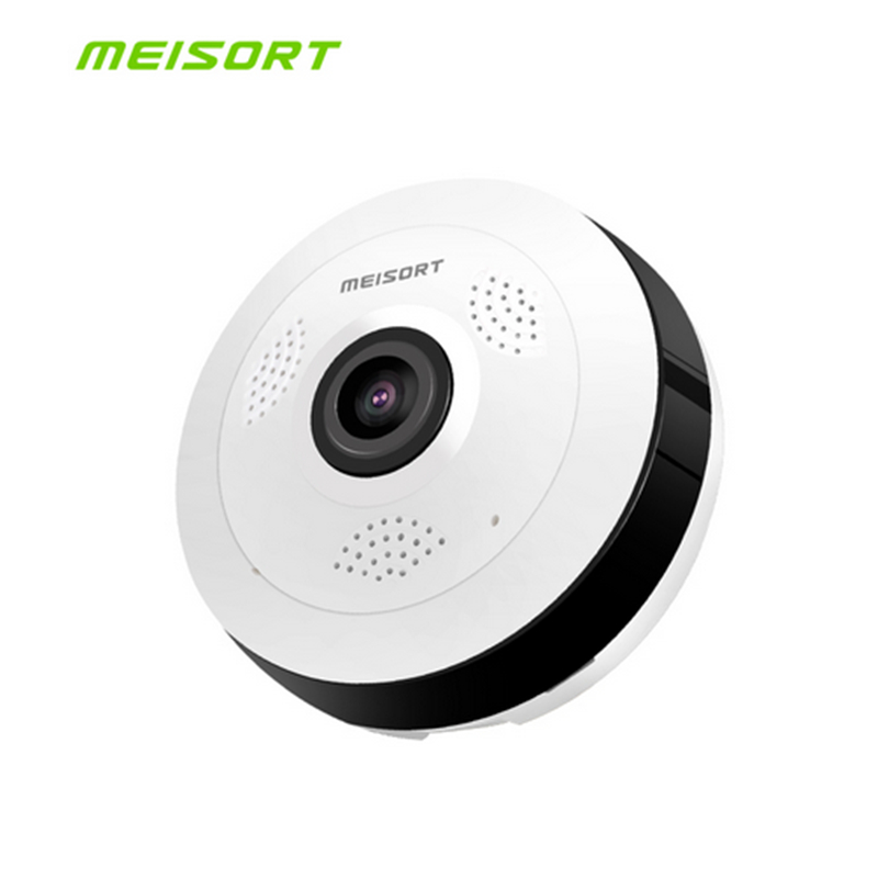 HD 960PH Fisheye VR Panoramic Camera Wireless Wifi IP Camera Home Security Surveillance System Camera Wi-fi 360 Degree Webcam  <br>