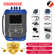Hantek DSO8202E Oscilloscope 200MHz 6in1 Handheld 1GS/s 2M Memory Depth 2 Channel DSO8202E 5.6 inch Digital Automotive X-Y mode