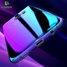 FLOVEME Case For Samsung Galaxy Note 8 S8 Plus S6 S7 Edge Blue Ray Cover For Samsung Galaxy S8 Plus A3 A5 2016 2017 Plus Shells
