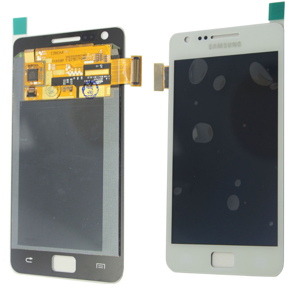 100% original test good working For Samsung Galaxy S2 i9200 lcd display touch screen digitizer white color freeshipping<br><br>Aliexpress