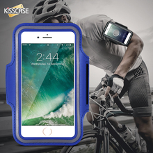 KISSCASE For iPhone 6 6s 4.7 Unisex Waterproof Leather Running Bicycling Jogging GYM Arm Band  Cases For iPhone 6 6S Wristband