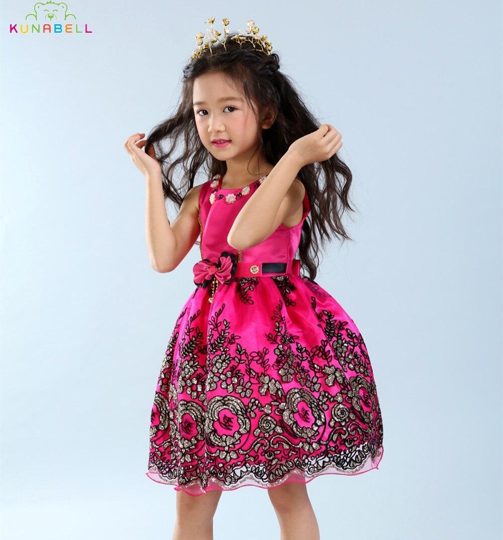 2017 New Girls Flower Dress Children Beautiful Lace Tutu Dresses Kids Bow Party Dancing Clothes Baby Girls Princess Dress S017<br><br>Aliexpress