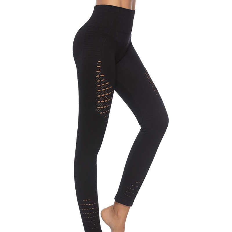 98e520050318f Sports Pants Gym Yoga Compression Tights Seamless Pants Super Stretchy High  Waist Fitness Leggings Running Pants