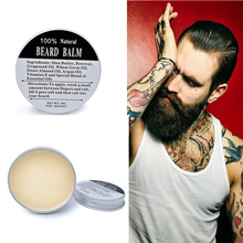 30g Organic Beard Preboily Conditioner Leave in Styling Moisturizing Effect Beard Care Natural Men Beard Hair Wax Balm