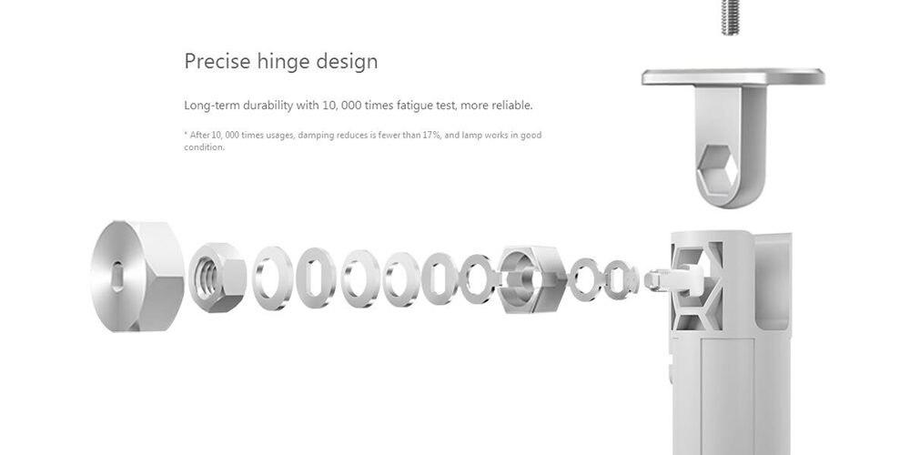 Original Xiaomi Mijia LED Desk Lamp Smart Table Lamps Desklight Support Mobile Phone App Control 4 Lighting Modes Reading LED