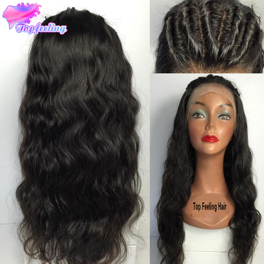 Full Lace Human Hair Wigs For Black Women Brazilian Glueless Full Lace Wigs With Baby Hair Body Wave Virgin Hair Full Lace Wig<br><br>Aliexpress