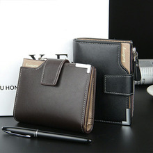 Hot Selling Brand men's wallet men purse Clutch bag male wallet Coin wallets Short section portfolio Card Pocket Holder Purse(China)