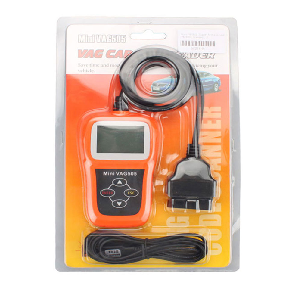 Mini VAG505 OBD2 OBDII Car Styling Code Reader Scan Tool VAG505 Auto Diagnostic Tool Super Professional Scanner (2)