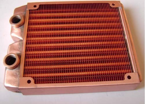New all copper Water cooling radiator top 120 katyusha 12cm computer water cooling radiator TOP120T YU1450<br>