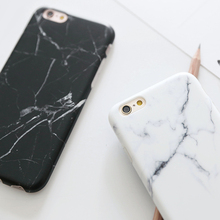 Hot Selling Fashion Marble Phone Case Hard PC Case for iPhone X 8 6 6S 7 Plus 5 5s SE Cover Coque Ultrathin Smooth Back Case