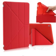 Ultra Thin Stand Design PU Leather case for apple ipad 3 4 2 Cover Colorful Flip Smart cover for iPad 2 3 4 Table Case +film(China)